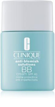 Clinique Anti-Blemish Solutions BB krema protiv nepravilnosti na licu SPF 40
