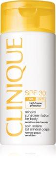 Clinique Sun SPF 30 Mineral Sunscreen Lotion For Body Mineraali Aurinkovoide SPF 30
