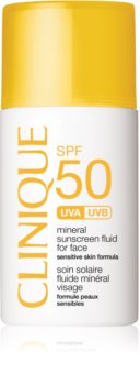 Clinique Sun SPF 50 Mineral Sunscreen Fluid For Face fluid mineral cu protecție solară SPF 50