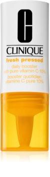 Clinique Fresh Pressed™ Daily Booster with Pure Vitamin C 10% bőrélénkítő szérum C-vitaminnal a bőröregedés ellen