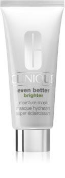 Clinique Even Better Brighter maschera idratante e illuminante