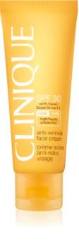 Clinique Sun napozó arckrém ránctalanító hatással SPF 30