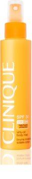 Clinique Sun könnyed naptej spray formában SPF 30