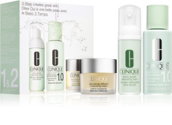 Clinique 3 Steps Introduction Kit Extra Gentle kosmetická sada XIII. pro ženy