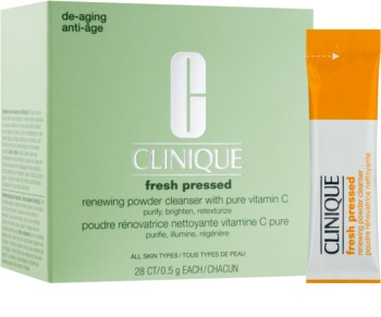 Clinique Fresh Pressed™  Renewing Powder Cleanser with Pure Vitamin C Rensende pudder Med C-vitamin