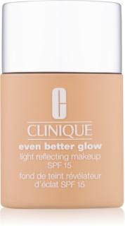 Clinique Even Better™ Glow Light Reflecting Makeup SPF 15 фон дьо тен за озаряване на кожата SPF 15