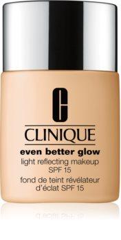 Clinique Even Better™ Glow Light Reflecting Makeup SPF 15 bőrélénkítő make-up SPF 15