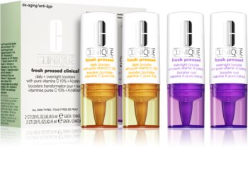 Clinique Fresh Pressed™ Clinical Daily + Overnight Boosters with Pure Vitamins C 10% + A esencja na dzień i na noc