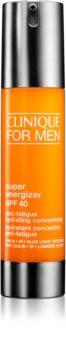 Clinique For Men™ Super Energizer™ SPF 40 Anti-Fatigue Hydrating Concentrate energizáló krémes gél SPF 40