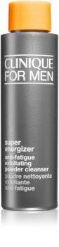 Clinique For Men™  Super Energizer Anti-Fatigue Exfoliating Powder Cleanser Eksfolierende pudder