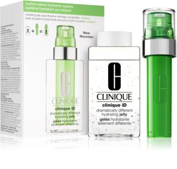 Clinique iD™ Dramatically Different™ Hydrating Jelly + Active Cartridge Concentrate for Irritation kozmetički set II, (za smirenje kože lica)