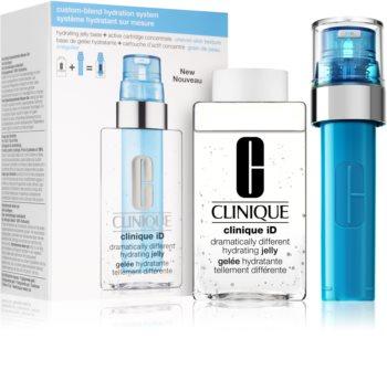 Clinique iD™ Dramatically Different™ Hydrating Jelly + Active Cartridge Concentrate for Pores & Unev zestaw I. (dla efektu rozjaśnienia i wygładzenia skóry)