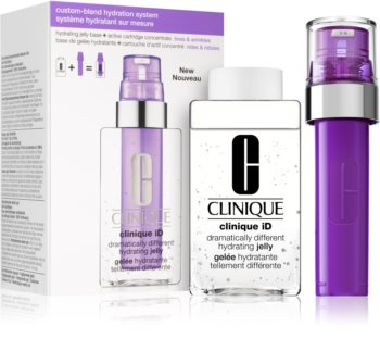 Clinique iD™ Dramatically Different™ Hydrating Jelly + Active Cartridge Concentrate for Lines & Wrin Kosmetiksæt  II. (med anti-rynkeeffekt)