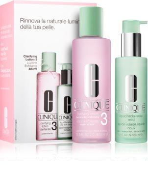 Clinique 3 Steps coffret cosmétique I. (pour peaux grasses et mixtes) pour femme