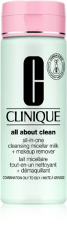 Clinique All About Clean All-in-One Cleansing Micellar Milk + Makeup Remove Gentle Cleansing Milk For Combination To Oily Skin