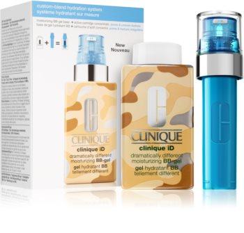 Clinique iD™ Dramatically Different™ BB-Gel + Active Cartridge Concentrate for Pores & Uneven Textur zestaw III. (dla efektu rozjaśnienia i wygładzenia skóry)