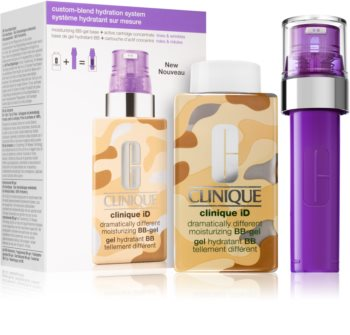 Clinique iD™ Dramatically Different™ BB-Gel + Active Cartridge Concentrate for Lines & Wrinkles kosmetická sada I. (proti vráskám)
