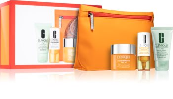 Clinique Superdefense™ SPF 25 Fatigue + 1st Signs Of Age Multi-Correcting Cream kosmetická sada (pro ženy)