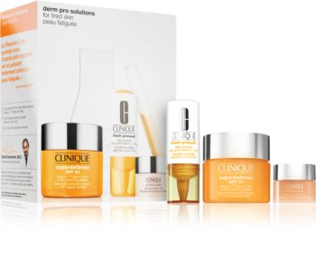 Clinique Derm Pro Solutions: Tired Skin kosmetická sada (pro ženy)