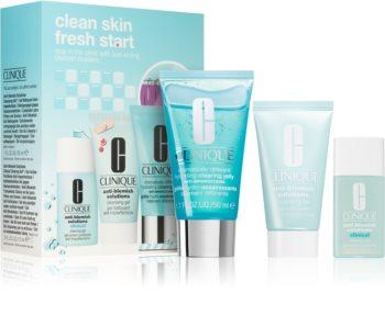 Clinique Clean Skin Fresh Start ensemble (pour les peaux à problèmes et grasses)