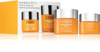 Clinique Superdefense™ Home & Away Set kozmetika szett (hölgyeknek)
