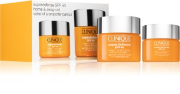 Clinique Superdefense™ Home & Away Set Set (Against The First Signs of Skin Aging)