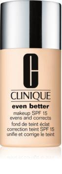 Clinique Even Better™ Even Better™ Makeup SPF 15 διορθωτικό μεικ απ SPF 15