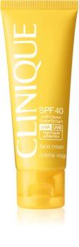 Clinique Sun SPF 40 Face Cream слънцезащитен крем за лице SPF 40