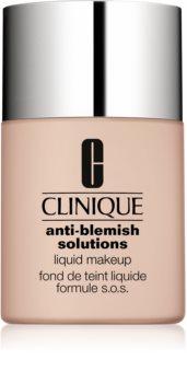 Clinique Anti-Blemish Solutions течен фон дьо тен за проблемна кожа, акне