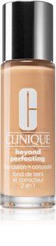 Clinique Beyond Perfecting™ Foundation + Concealer base de maquillaje y corrector 2 en 1