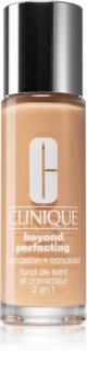 Clinique Beyond Perfecting™ Foundation + Concealer make-up si corector 2 in 1