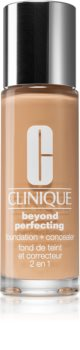 Clinique Beyond Perfecting™ Foundation + Concealer грим и коректор 2 в 1