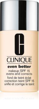 Clinique Even Better™ Even Better™ Makeup SPF 15 fond de teint correcteur SPF 15