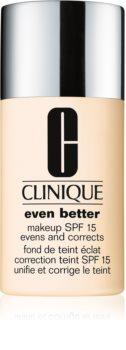 Clinique Even Better™ Even Better™ Makeup SPF 15 korrekciós make-up SPF 15