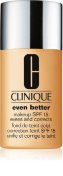 Clinique Even Better™ Even Better™ Makeup SPF 15 podkład korygujący SPF 15