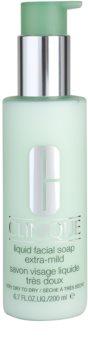 Clinique Liquid Facial Soap Flydende sæbe til tør og meget tør hud