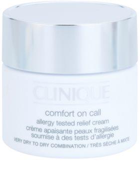 Clinique Comfort on Call Allergy Tested Relief Cream krem nawilżający do skóry suchej i bardzo suchej