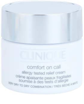 Clinique Comfort on Call Allergy Tested Relief Cream Moisturising Cream for Dry and Very Dry Skin
