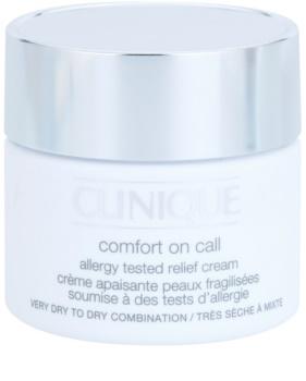 Clinique Comfort on Call crema hidratanta uscata si foarte uscata