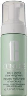 Clinique Extra Gentle Cleansing Foam nježna pjena za čišćenje za suhu i vrlo suhu kožu lica