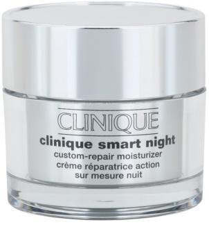 Clinique Clinique Smart feuchtigkeitsspendende Nachtcreme gegen Falten für trockene bis sehr trockene Haut