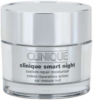 Clinique Smart Night™  Custom-Repair Moisturizer Crema de noapte hidratanta anti-rid ten uscat si mixt