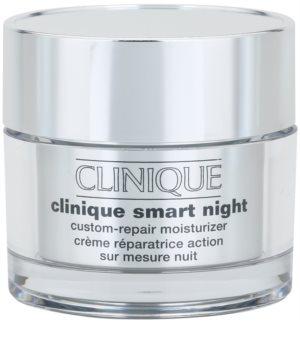 Clinique Smart Night™  Custom-Repair Moisturizer Fugtighedscreme mod rynker til kombineret og fedtet hud