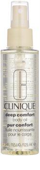Clinique Deep Comfort поживна олійка для тіла