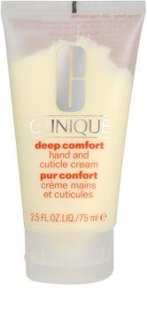 Clinique Deep Comfort βαθιά ενυδατική κρέμα Σε  χέρια, νύχια και παρανυχίδες