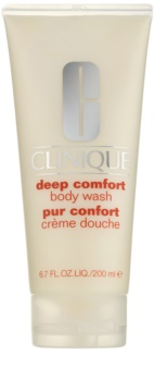 Clinique Deep Comfort™ Body Wash απαλή κρέμα ντους για όλους τους τύπους δέρματος