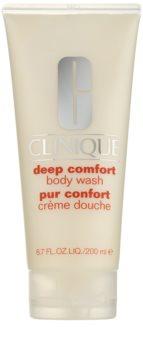 Clinique Deep Comfort crema doccia delicata per tutti i tipi di pelle