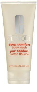 Clinique Deep Comfort crème de douche douce pour tous types de peau