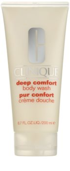Clinique Deep Comfort jemný sprchový krém pro všechny typy pokožky
