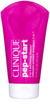 Clinique Pep-Start gel limpiador exfoliante 2 en 1